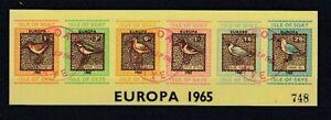 Europa CEPT  1965  Isle of Skye  Vögel  ZD  6 Werte    Cinderella  oo