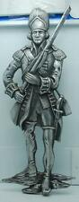 """20.5"""" DECORAMA METAL COLONIAL SOLDIER DECORATIVE WALL HANGING"""