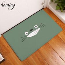 Funny Cartoon Expression Totoro Carpets Children Bedroom Foot Bed Mats