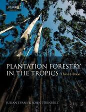 Plantation Forestry in the Tropics: The Role, Silviculture, and Use of Planted F