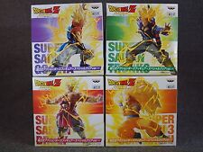 DRAGON BALL Z Action Poses Figure Special Clear Ver. Set of 4 BANPRESTO JAPAN