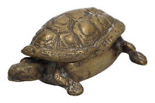 An old brass tortoise / turtle box Small Antique ?