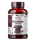 Multi Vitamins & Minerals 180 Veggie Tablets 100% RDA A-Z with Grapeseed Extract