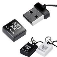 Mini Card Reader Super Geschwindigkeit USB 2.0 Micro SD/SDXC TF Adapter Neu