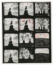 Gettysburg - General Hancock Statue - 8x10 Contact Sheet by Kosti Ruohomaa