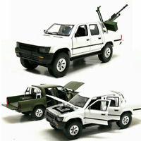 1:32 Toyota Hilux Pick-up Truck Model Car Diecast Gift Toy Vehicle Collection