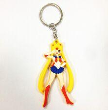 """Japanese Anime Sailor Moon Tsukino Usagi 5cm/2"""" Pendant Keychain Keyring Gifts"""