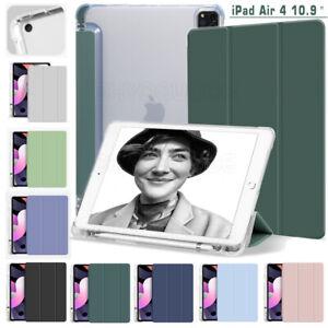 "Magnetic Flip Leder Tasche Cover Pen Holder Für iPad Pro 12.9"" Air 4 10.9"" 2020"