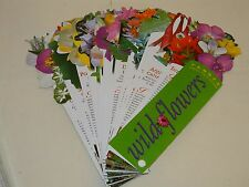 Wildflowers FANDEX Family Field Guides NIB NEW Workman Publishing 50 Die-Cut Car