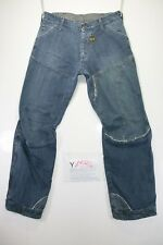 G-Star Concept Elwood cod. Y1594 tg47 W33 L34 jeans hohe Taille gebraucht