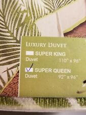 HiEnd Accents Capri Duvet Cover super Queen