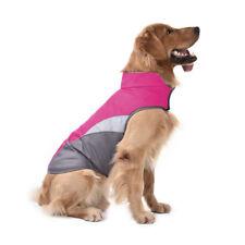 Waterproof Pet Dog Jacket Outdoor Winter Warm Coat Polar Fleece Reflective Safe
