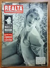 VINTAGE MAGAZINE RIVISTA REALTA N 13 24/2/1955 SOPHIA LOREN PORTELO DIANA DORS
