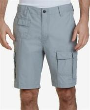 Nautica 9 Inch Navigator Cargo Shorts Neutral Grey Mens Size 34 New