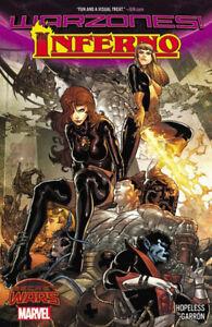 Inferno Warzones GN Dennis Hopeless Garron X-Men Goblin Queen Secret Wars New NM