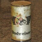 """Budweiser OI """"gold claw"""" flat top beer can"""