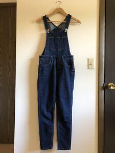 Levi's Women's Skinny Bib Overalls - Skinny Dip/Dark Wash - Size 27