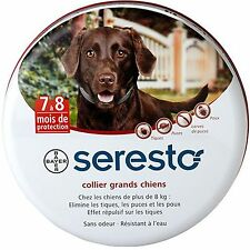 Seresto for Large Dogs  Flea & Tick Collar for dogs over 18 lbs