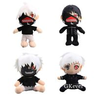 Horror Anime Tokyo Ghoul Plush Toy Ken Kaneki Stuffed Doll Figures Xmas Gift