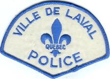 Ville de Laval Police QC Quebec Police Patch Canada