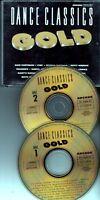 DANCE CLASSICS GOLD 2-CD BOX ARCADE Dan Hartman Foxy Labelle Prince Shalamar etc