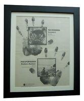 THE CRUSADERS+1+ALBUM+LP+POSTER+AD+ORIGINAL 1972+FRAMED+EXPRESS GLOBAL SHIP