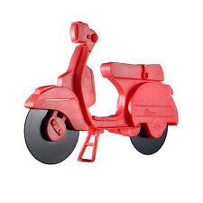 Eddingtons Scooter Moped Pizza Cutter Slicer Fun Novelty Retro Non Stick Wheels