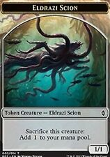 4x 4 x Eldrazi Scion Token x4 - Battle for Zendikar MTG Colorless TOKEN CARD