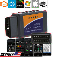 OBD II 2 CAR AUTO COMPUTER FAULT CODE DATA READER SCAN TOOL FOR IPAD IPHONE IOS