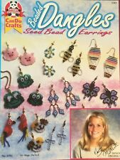 HOW TO MAKE BEADED SEED BEAD ANIMAL & CHRISTMAS EARRINGS 20 PROJECTS & PATTERNS