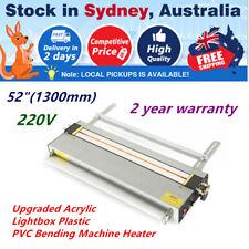 "Aus Stock 52"" Upgraded Acrylic Lightbox Plastic PVC Bending Machine Heater 220v"