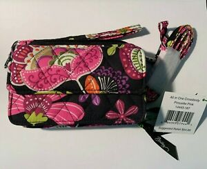 Vera Bradley All In One Crossbody in Pirouette Pink  14443-167 NEW with Tags