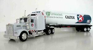 CALTEX W900 KENWORTH  PETROL TANKER OIL TANKER FUEL TANKERS 1/43 TRUCKS