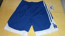 Los Angeles Dodgers Shorts Youth Boys Size XSmall Blue Stitched LA Sewn Logo New