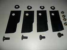 Lawnmower blade kit 4 blades with bolts for Talon mowers