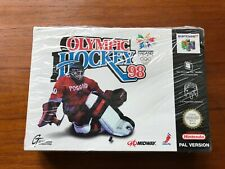 Olympic Hockey 98 (Nintendo 64, 1998) NIB, Factory Sealed, PAL Version