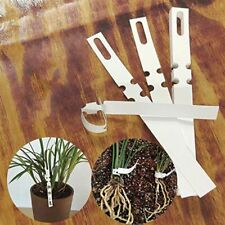 100 Pcs Plant Tree Tags Nursery Garden Lables 2x20 cm Wrap Around Hanging Tags