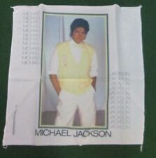 MICHAEL JACKSON TEXTILE POSTER FLAG  RARE NEW ORIGINAL NIKRY FLAGS BANNER 1983