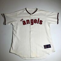 Majestic Los Angeles Anaheim Angels Cooperstown Collection Stitched Jersey