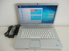 "SONY VAIO VGN-NW21ZF Laptop Notebook 15,4"" 2,13 GHz 250GB HDD 3GB RAM Windows 10"