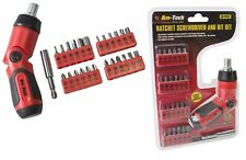 Am-Tech 26 Pc 3 Position Ratchet Screwdriver and Bit Set