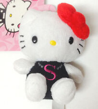 "Sanrio Hello Kitty Mascot Plush Initial ""S"" Charm kawaii"