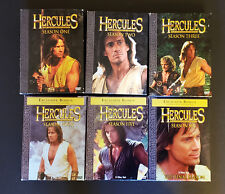 Hercules: The Legendary Journeys Complete DVD Season Series Set 1- 6 w/ Papers