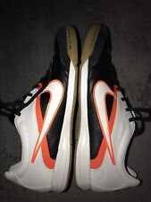 NIKE Mens Indoor Soccer Shoes Black White CTR360 Size 11