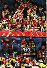 Artesanias Peru Handicrafts Vintage Textiles Photograph Album Paperback Ceramics