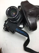 Olympus OM-3 Film Camera + 35mm F2 Lens + Case Strap Film Tested