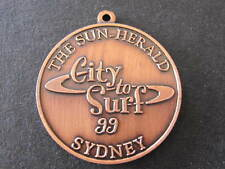 The Sun Herald City to Surf Sydney 1999 Australian Finished Medal