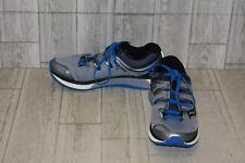 Saucony Hurricane ISO 4 Running Shoes, Men's Size 10.5, Grey/Blue/Black