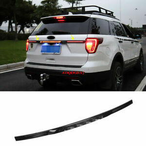 For Ford Explorer 2015-19 Rear Trunk Tailgate Molding Trim Strip W/LED Replace