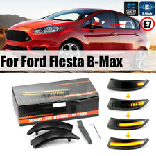 NEW Dynamic LED Wing Mirror Side Indicator Flowing Light For Ford Fiesta B-Max